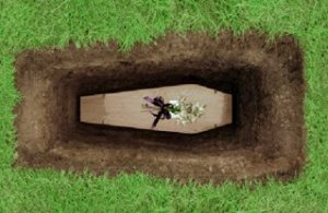 Coffin-Buried-Ground-Graveyard-Photo